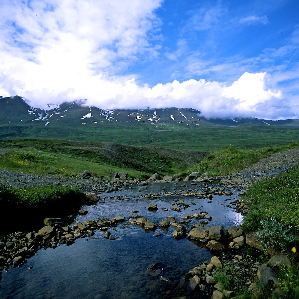 "Image titled ""Walking to Sulur, Iceland."""