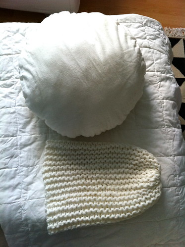 Make a knitted pouf in 2 seconds (1)