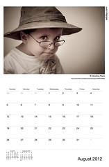 ADIDAP Calendar 2012 US August