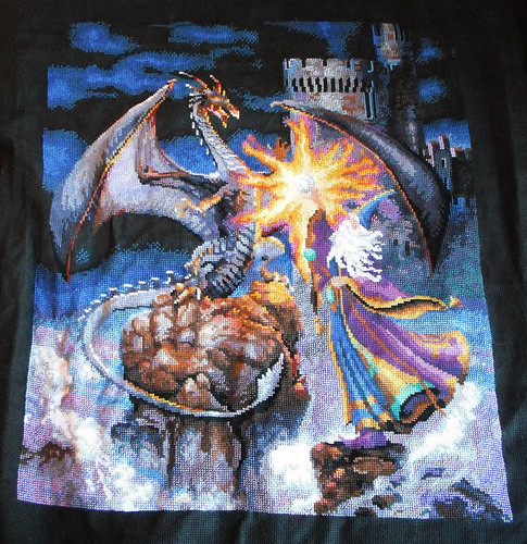 Wizard Cross-stitch