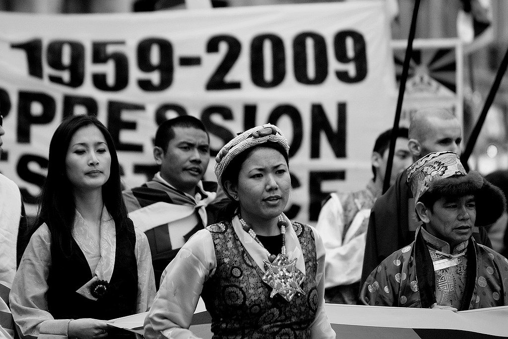 1959 Tibetan uprising anniversary & demonstration