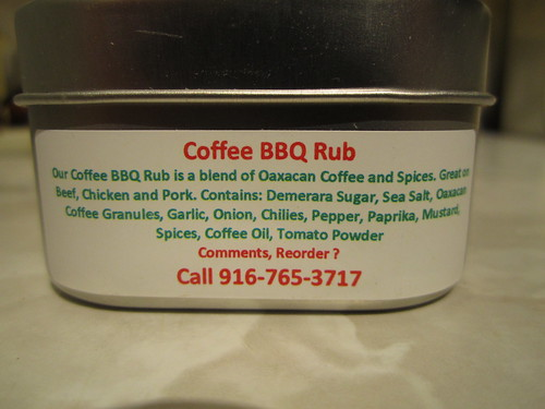 Coffee BBQ Ingredients