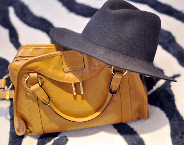 Marc Jacobs Bag - Fedora Hat - zebra  rug