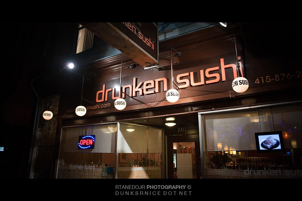 Drunken Sushi.