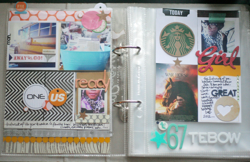 project life 2012| week 1-without inserts