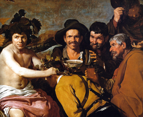 Diego Rodriguez de Veldzquez - Bacchus, 1628 at Prado Museum Madrid Spain by mbell1975