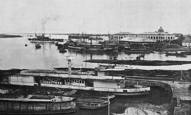 Tonkin - Haiphong, le port