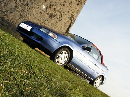 Toyota Paseo CK-Cabrio Akustik-Verdeck Grenadine-Rot
