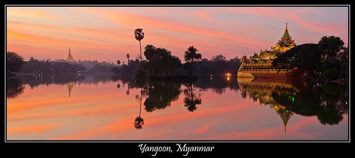 Yangoon ( Rangoon ) MYANMAR ( Birmanie )