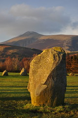 Strong stone under Skiddaw