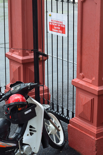 Parking irony