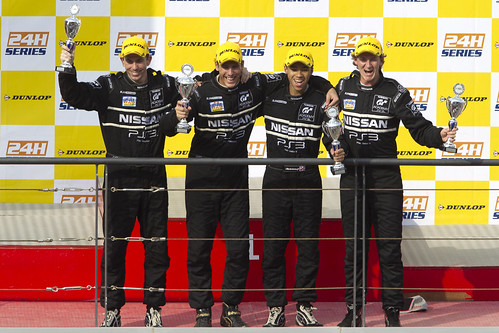 GT Academy Drivers Take Class Podium at Dubai 24H - 1