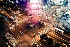 [フリー画像素材] 建築物・町並み, 都市・街, 道路・道, 夜景, 風景 - 中華人民共和国 ID:201201190000