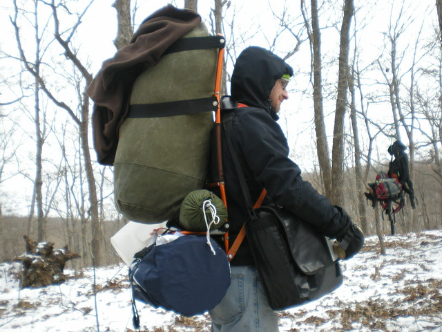 image - External Frame Hiking Backpack