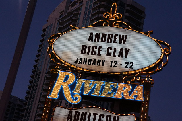 "Header of Andrew ""Dice"" Clay"
