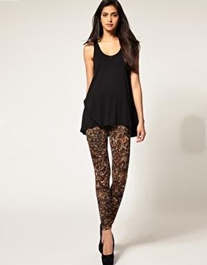 How to Wear leopard Leggings - Asos leopard leggings