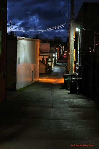 Long Alley & Cloudbank by Seattle Daily Photo