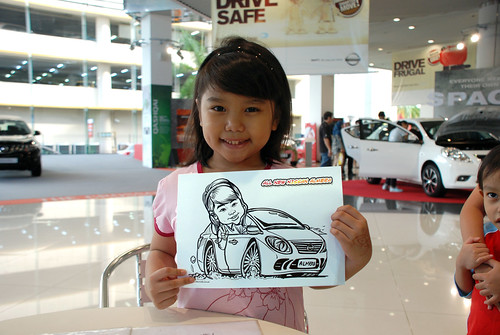 Caricature live sketching for Tan Chong Nissan Motor Almera Soft Launch - Day 4 - 20