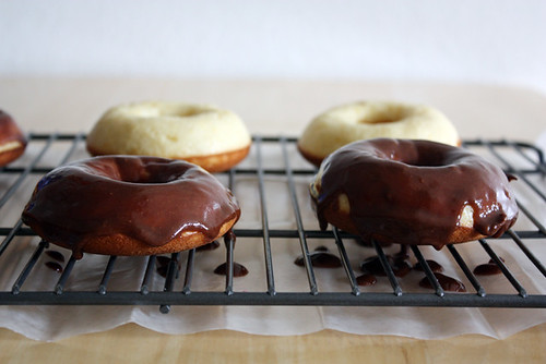 chocolate-orange doughnuts.