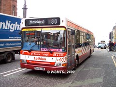 96 SN53 AVM Dennis Super Pointer Dart Plaxton Pointer II.South ST andrew st EDINBURGH