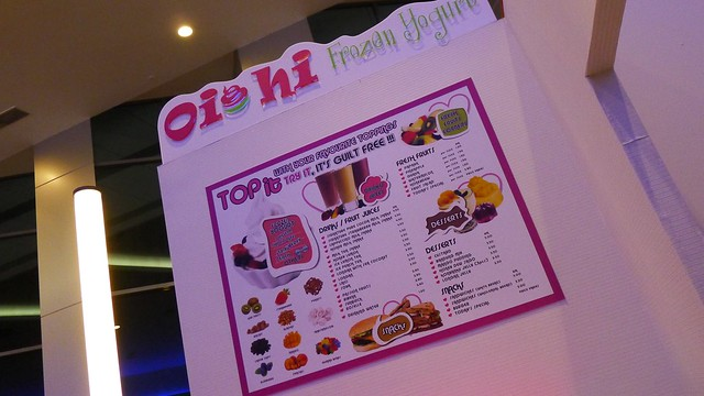 Oishi Frozen Yogurt At 1st Avenue, Penang