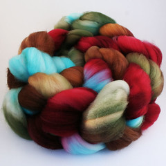 Snowberry on Superwash Merino