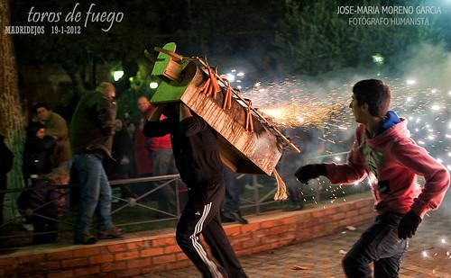 TOROS DE FUEGO = MADRIDEJOS 2012 by José-María Moreno García = FOTÓGRAFO HUMANISTA