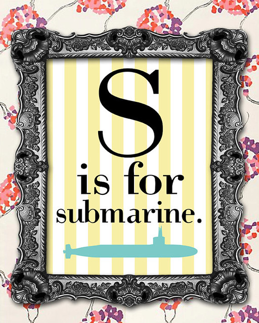 s is for sub
