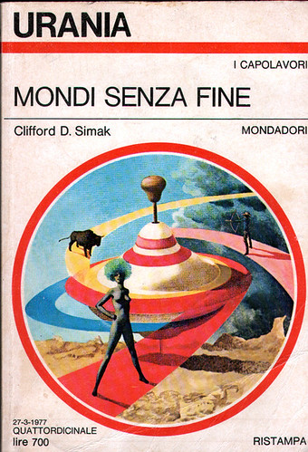 Italian - Clifford D. Simak - Ring Around The Sun - cover artist Karel Thole