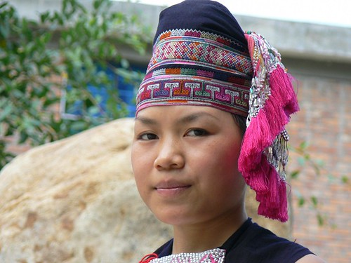 Young Dai minority girl (Xingping, China 2006)