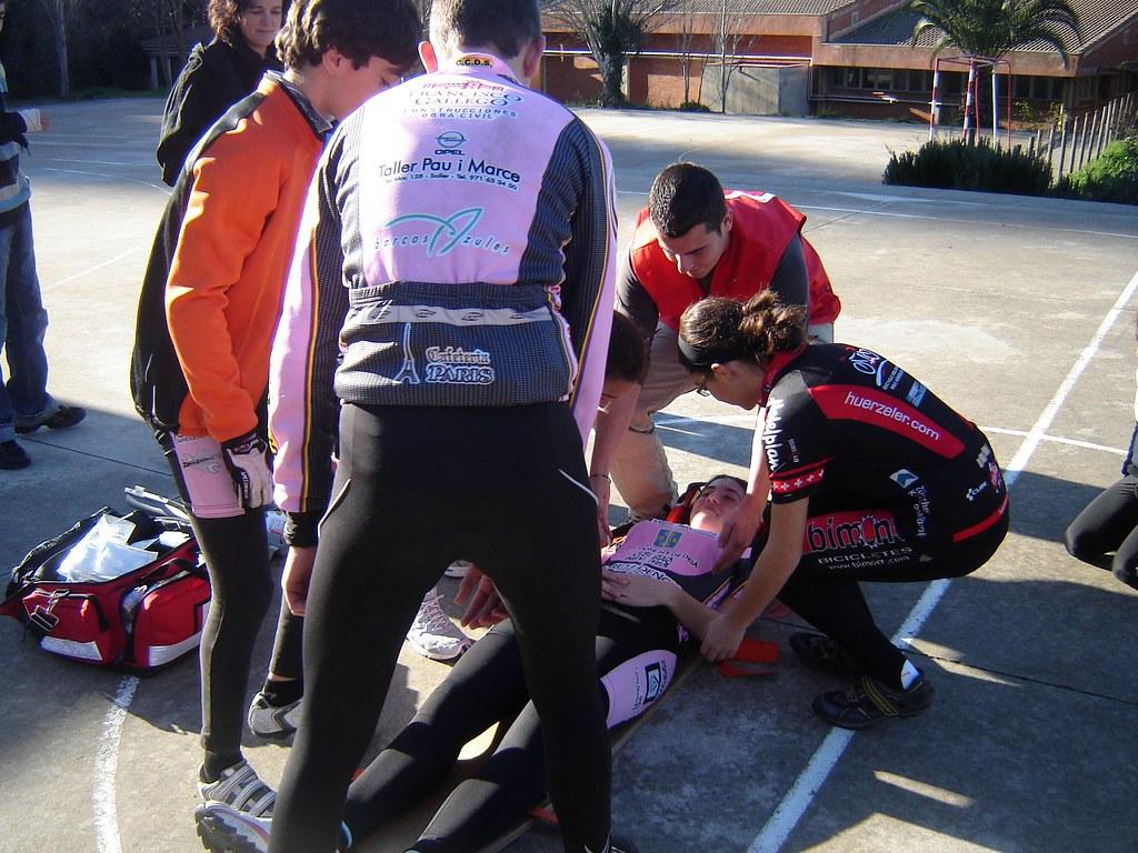 Escola Ciclisme - Curset Socorrisme 21-01-2012.