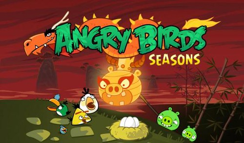 Year of Dragon Angry Birds Seasons