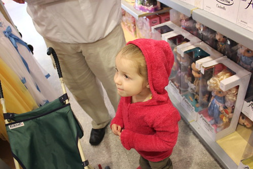 Looking at Toys at The Disney Store