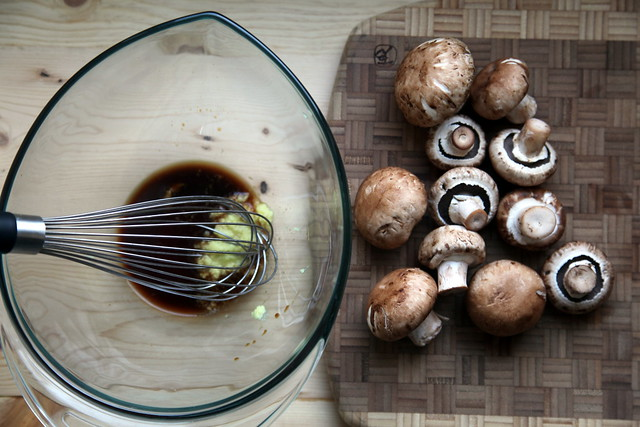 Marinade + Mushrooms