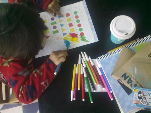 Escuela en casa/cafetería