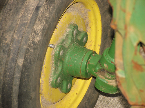 CrabAppleLane Tractor Wheel - January 22, 2012