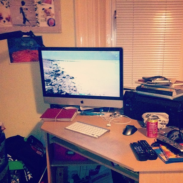 Spent my evening here playing games... <3 22/366 #project366