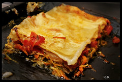 vegetable(0.0), produce(0.0), moussaka(1.0), food(1.0), dish(1.0), cuisine(1.0), lasagne(1.0),