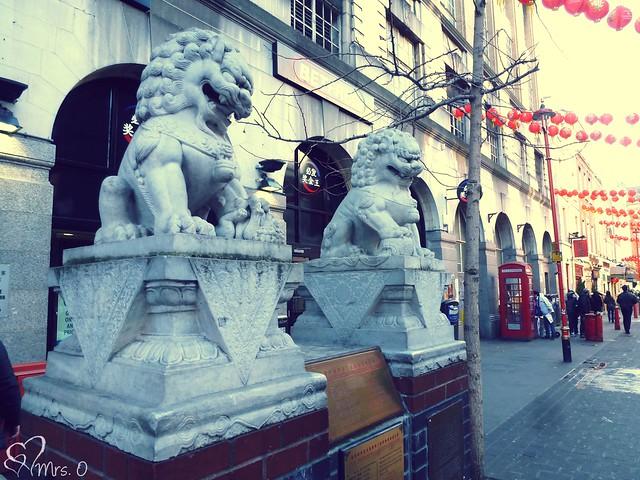 Chinatown Lions
