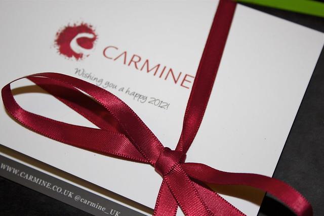 carmine january box