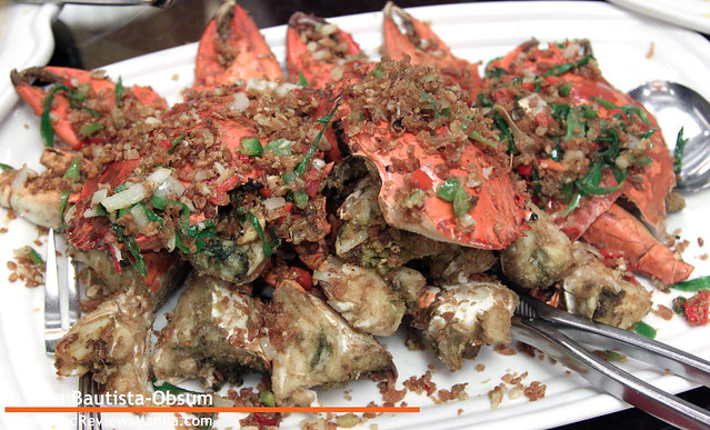 Legend Fried Crabs with Salt and Garlic