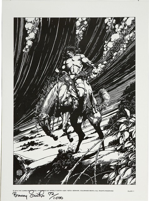 Barry Smith's Tupenny Conan Portfolio 2 1974