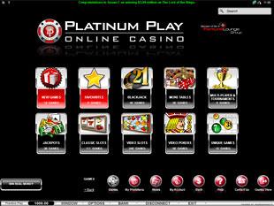 Platinum Play Lobby