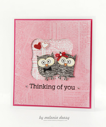 Loving Owly You Pink Card