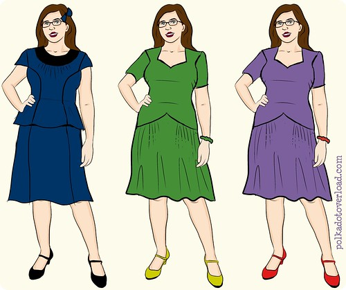 1940s Du 1940s Du Barry Dress ShBarry Dress Showdown Alternative Color Options