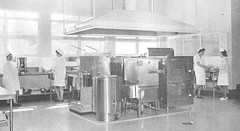 Hutchinson Hospital, Kitchen c1967.