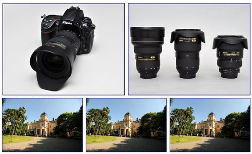 Nikon 16-35mm vs Nikon 14-24mm vs Nikon 17-35mm on a Nikon D700