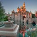 Gilded Sleeping Beauty Castle by Coasterluver