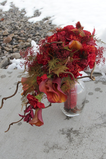 bouquets for fire and ice shoot
