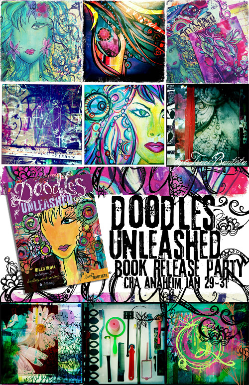 doodles UNLEASHED book release party CHA